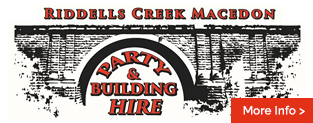 Riddells Creek Macedon Party & Equipment Hire